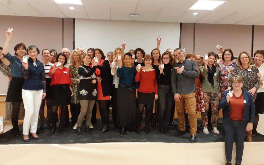 Brochet-Teambuilding & Serious Game anime avec succès partagé la soirée festive des Vœux du club lyonnais des Assistantes de Direction CLASS le 10 janvier 2020 !